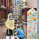 Puesto de venta de recuerdos. Ciudad de GDANSK. Polonia