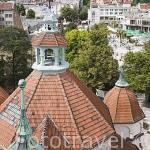 Vista de la ciudad de SOPOT desde el faro de 35 mts de altura. Polonia