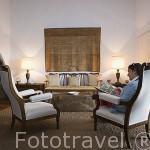 Salon. Hotel convento San Francisco. Cerca de Vilafranca do Campo. SAO MIGUEL. Azores. Portugal