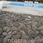 Piscina de la casa rural Pozinho Bay. Isla de PICO. Azores. Portugal