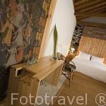 Una habitacion de la casa rural Pozinho Bay. Isla de PICO. Azores. Portugal
