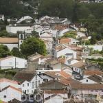Vista del pueblo de Furnes. Isla de SAO MIGUEL. Azores. Portugal
