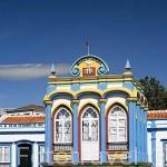 La capilla Imperio da Caridade (una de las 70 que hay en la isla para celebrar la llegada del Espiritu Santo). Isla de TERCEIRA. Azores. Portugal