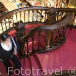 Interior de la antigua libreria Lello. Ciudad de OPORTO. Portugal. M.R 091