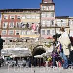Barrio de Ribeira. Ciudad de OPORTO. Portugal