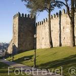 Muralla y jardin de Arnaldo Gama. Ciudad de OPORTO. Portugal