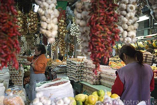 Mercado do Bolhao. Ciudad de OPORTO. Portugal