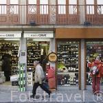 Tienda en Rua das Flores. Ciudad de OPORTO. Portugal