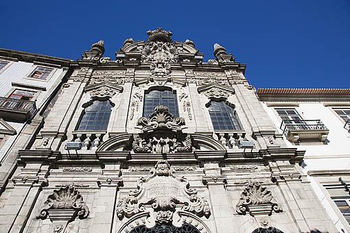 Iglesia de la Misericordia en la Rua das Flores. Ciudad de OPORTO. Portugal