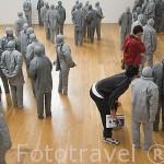 Exposición y obra de Juan Muñoz. Museo Serralves de Arte Contemporaneo. Ciudad de OPORTO. Portugal