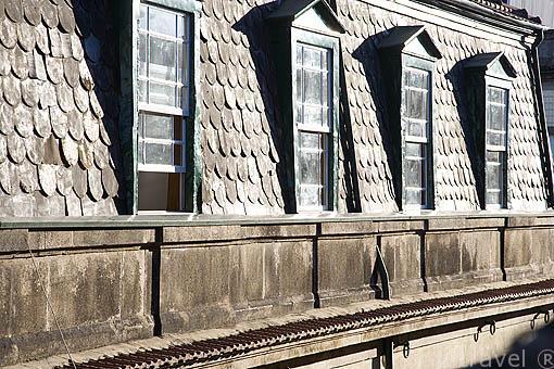 Fachada de una casa en la ciudad de OPORTO. Portugal