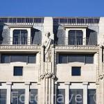 Edificios históricos en la plaza da Liberdade. Ciudad de OPORTO. Portugal