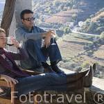 Descansando en la Quinta do Vallado y viñedos cercanos al pueblo de REGUA y al rio Duero. Portugal M.R. 090