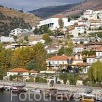 Pueblo de PINHAO junto al rio Duero. Zona de Sima Corgo. Portugal