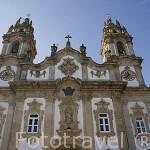 Santuario Ntra. Sra. Dos Remedios. Pueblo de LAMEGO. Zona del rio Duero. Portugal