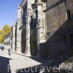 La Sé catedral del pueblo de LAMEGO. Zona del rio Duero. Portugal