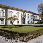 Antiguo edificio del Palacio del Arzobispado. Actual Museo de Lamego. Pueblo de LAMEGO. Zona del rio Duero. Portugal