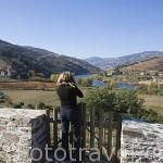 Vistas sobre el valle del rio Duero. Portugal