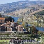 Hotel y Spa Six Senses Douro Valley junto al rio Duero. Pueblo de SAMODAES. Portugal