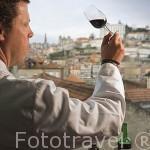 Sr. Fernando Oliveira, enologo jefe del grupo Sogevinus. Ciudad de OPORTO. Portugal