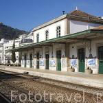 Estación de tren de PINHAO. Valle del Duero. Portugal