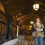 José Serpa Pimentel y su hija Catarina Serpa en su bodega de vino Oporto Vintage. Quinta da Pacheca. Cerca de REGUA. Zona del Alto Douro.Valle del Duero. Portugal