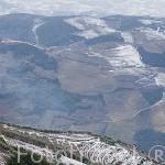 Viñedos en el valle del Duero desde el mirador de Sao Leonardo de Galafura. Zona del Alto Douro. Portugal