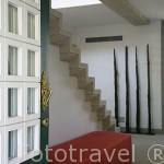 Entrada y recepción. Zona del hotel. Quinta La Pacheca. Cerca de la población de REGUA. Valle del Duero. Portugal