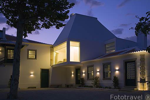 Edificio del hotel. Quinta La Pacheca. Cerca de la población de REGUA. Valle del Duero. Portugal
