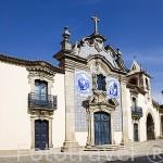 Iglesia de la Misericordia en la plaza SAN JOAO DE PESQUEIRA. (1744). Valle del Duero. Portugal