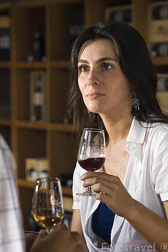 Bodega Fonseca y degustación de vino Oporto. Quinta do Panascal. Cerca de REGUA. Valle del Duero. Portugal