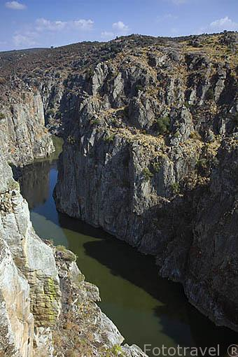 Hoces del Duero cerca de San Juan de los Arribes. Cerca de MIRANDA DE DUERO. Valle del Duero. Portugal