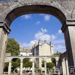 Antiguo claustro junto a la catedral. Población de MIRANDA DE DUERO. Valle del Duero. Portugal