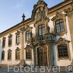 Edificio de los juzgados en la población de SAN JOAO DE PESQUEIRA. Valle del Duero. Portugal