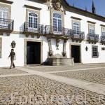 Fachada. Pousada Solar de Rede. Cerca de la población de REDE. Valle del Duero. Portugal
