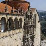 Iglesia de Sao Gonzalo. Población de AMARANTE. Portugal
