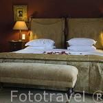 Habitación. Hotel Casa da Calzada. Población de AMARANTE. Portugal