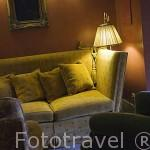 Salon interior. Hotel Casa da Calzada. Población de AMARANTE. Portugal