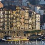 Ciudad de OPORTO y el rio Duero. Portugal