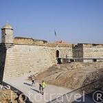 El fuerte de San Francisco Xavier. Ciudad de OPORTO. Portugal