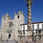La Catedral , siglos XII - XIII. Ciudad de OPORTO. Portugal