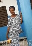 Chica de la etnia Peuhl. Poblacion de Falia. Senegal. Africa