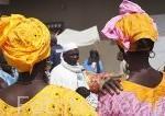 Mercado de los miercoles de Ngueniene. Delta del Saloum. Senegal. Africa