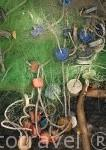 Redes de pesca. Delta del Saloum. Senegal. Africa