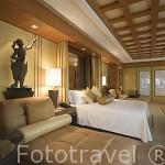 Habitacion suite. Hotel Conrad Bangkok. Ciudad de BANGKOK. Tailandia