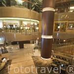 Lobby del hotel Conrad Bangkok. Ciudad de BANGKOK. Tailandia
