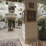 Sala de descanso con musica en directo. Hotel Oriental Mandarin. BANGKOK. Tailandia