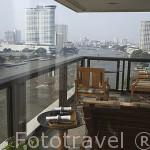 Habitacion con vistas al rio Chao Phraya. Hotel Oriental Mandarin. BANGKOK. Tailandia