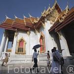 Templo de Marmol (Wat Benchamabopitr). Ciudad de BANGKOK. Tailandia