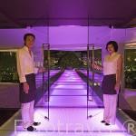 Restaurante mirador al aire libre Breeze (pisos 51-52) y hotel Lebua. En la torre State Tower. Ciudad de BANGKOK. Tailandia